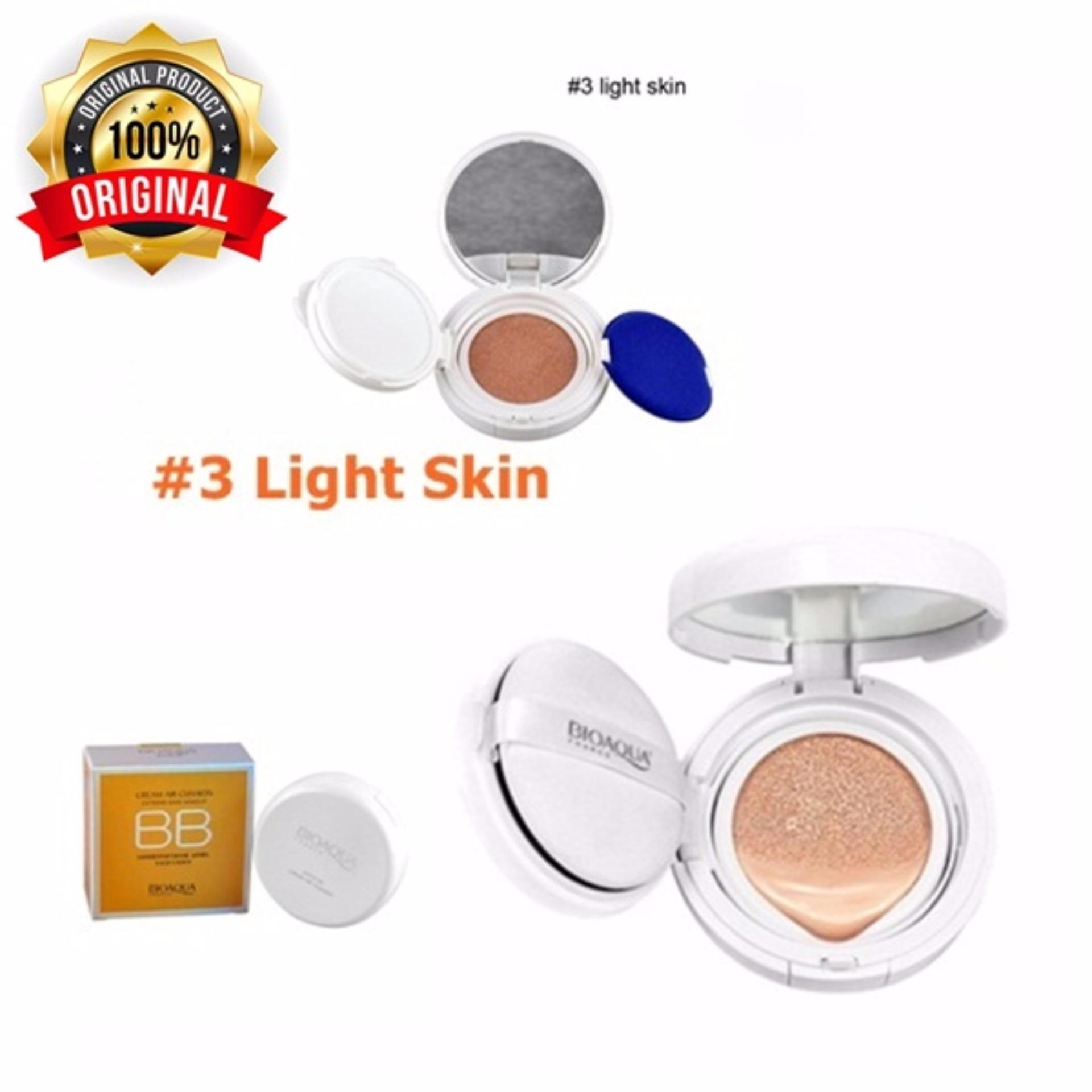 Diskon 03 Light Skin Bioaqua Bb Cream Air Cushion Original Branded